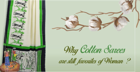 COTTON SAREE ARE STILL FAVORITES OF WOMEN